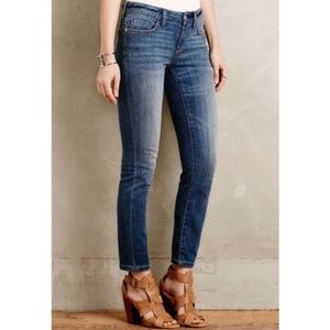 ANTHRO Pilcro Stet Ankle Jeans 28